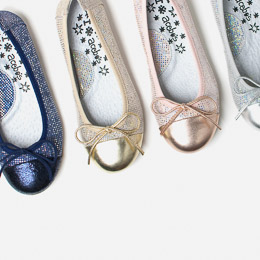 Kids' ballet pumps