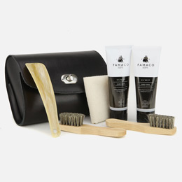 Luxury shoe care kits