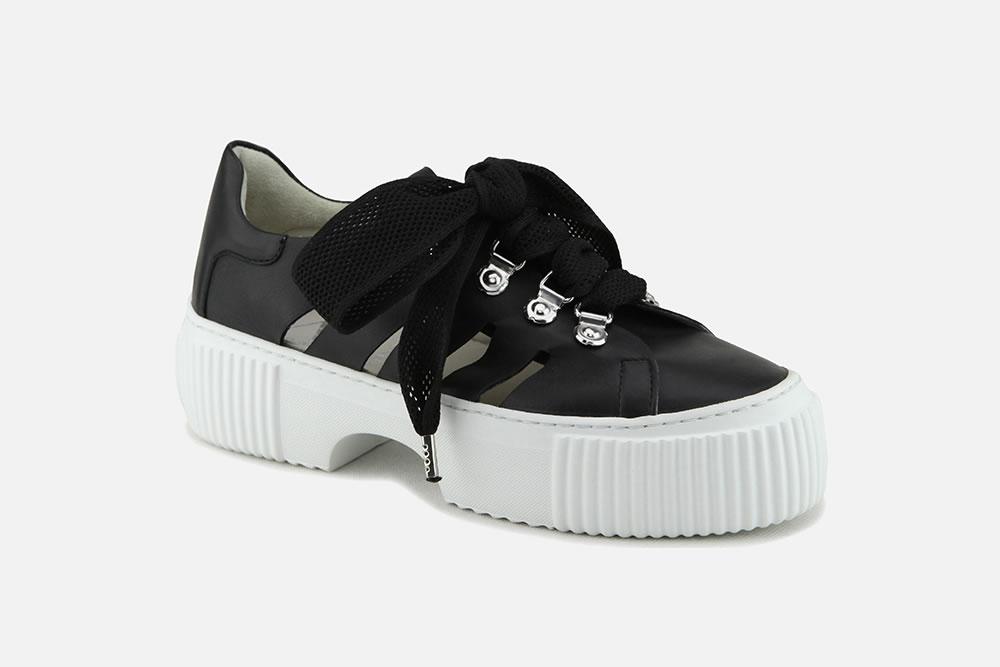 Blanc À Botte Noir Allure Agl Chantilly Sneakers La YHWE9D2I