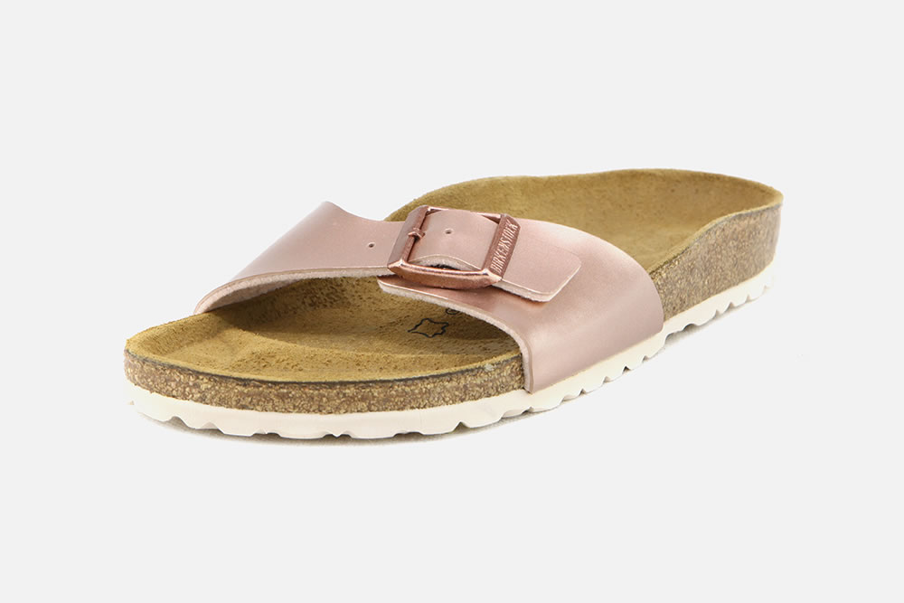 Copper La À Tongs Madrid Nu Birkenstock Metallic Pieds Chantilly Botte xoQrCdBeEW