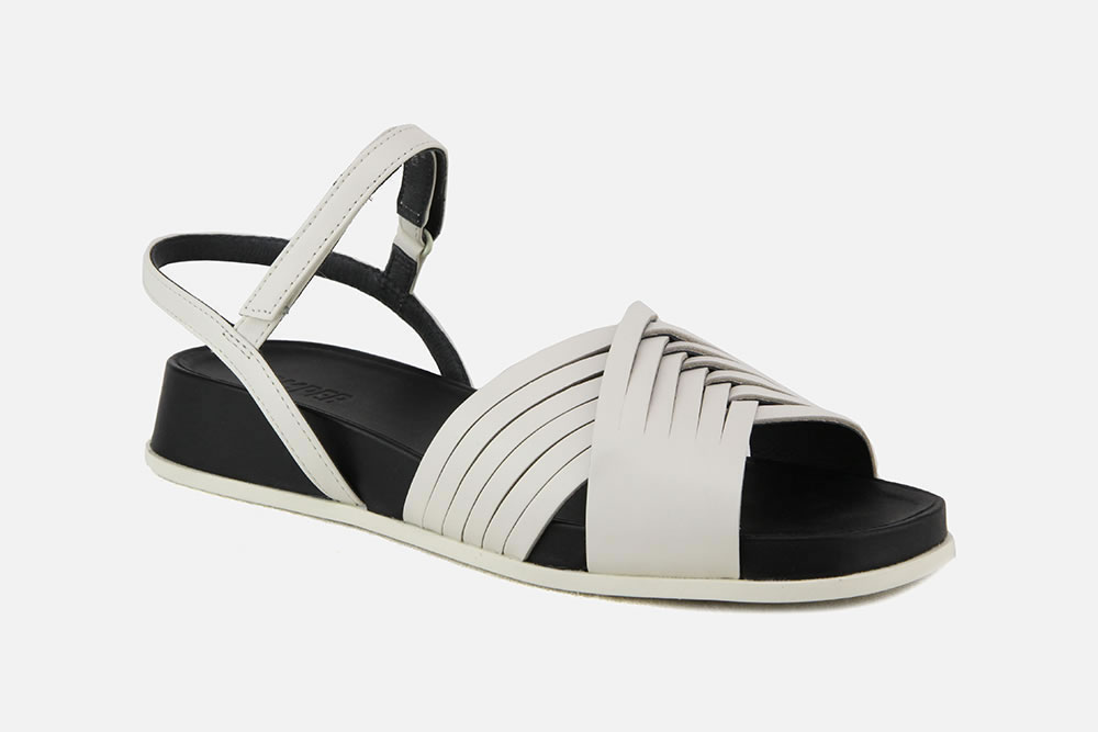 CHILLANY-sandales-sandales-véritable cuir-Cuir-Noir-taille 37-NEUF