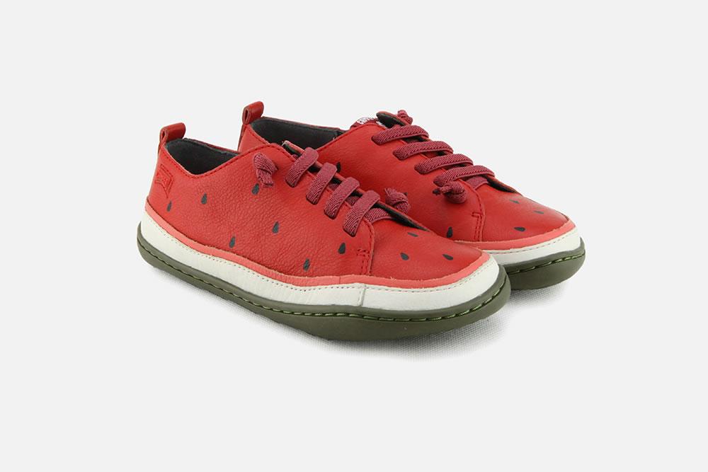 À Rouge Botte Chantilly Chaussures La Camper Pasteque Lacets j5RLA34qSc