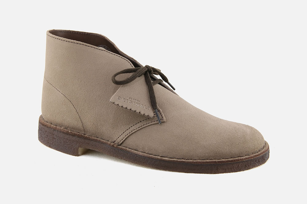 Clarks - DESERT BOOT WOLF SUEDE Lace-up