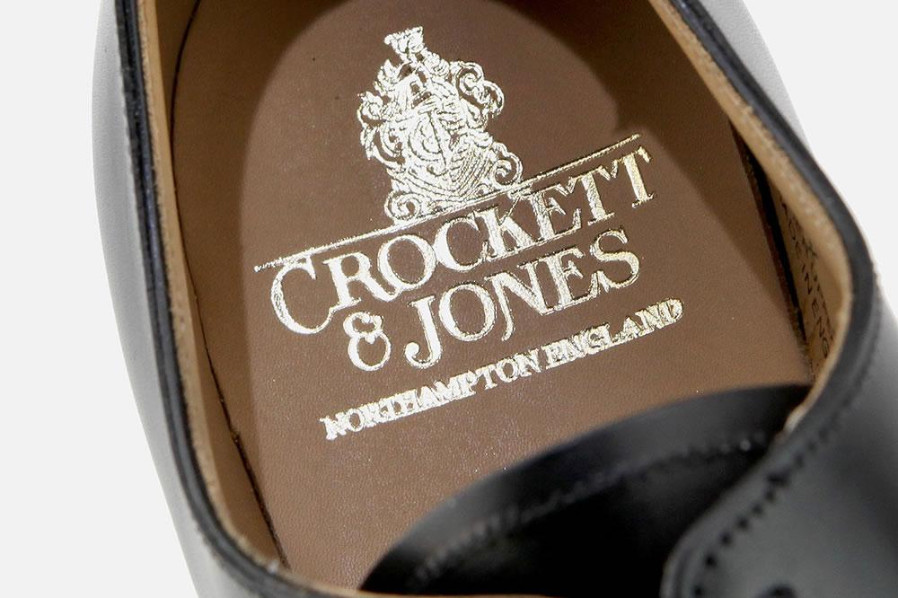 Crockett & Jones ALEX BLACK Richelieus à La Botte Chantilly