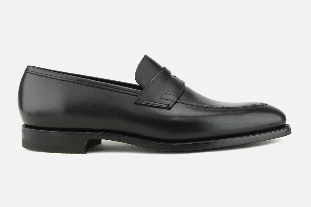 fd29cf4904 Crockett & Jones - SYDNEY BLACK CITY SOLE Loafers on La Botte ...