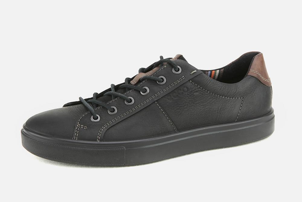 ecco noir shoes