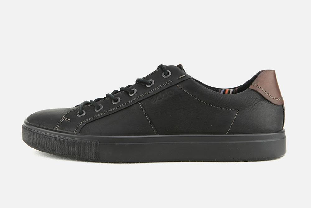 Ecco - KYLE NOIR COGNAC Sneakers on La