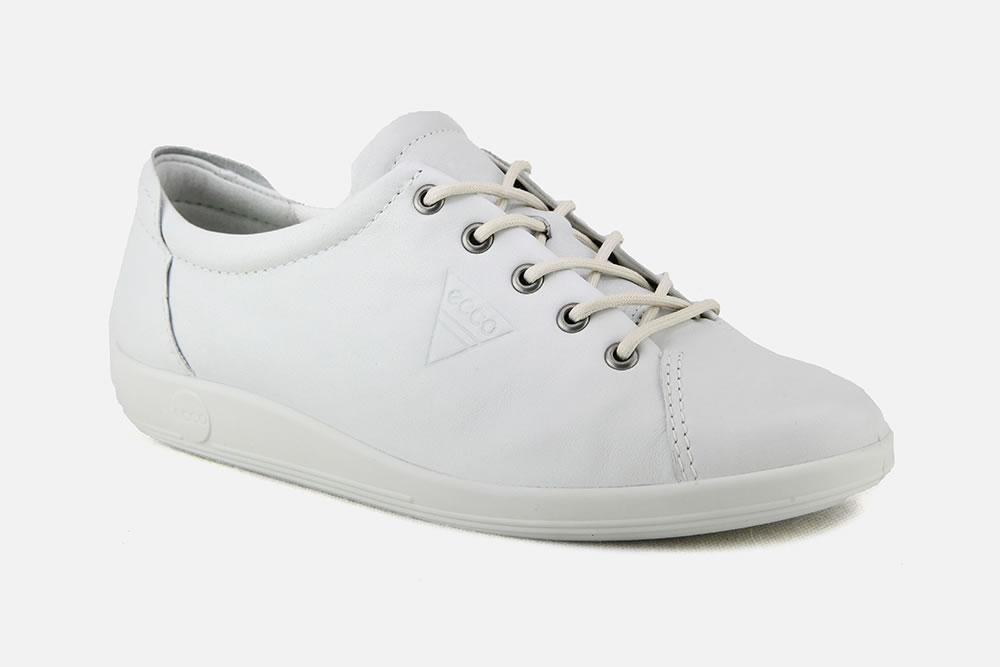 Soft Botte À Sneakers 2 Ecco Blanc La Chantilly j3A54RLq