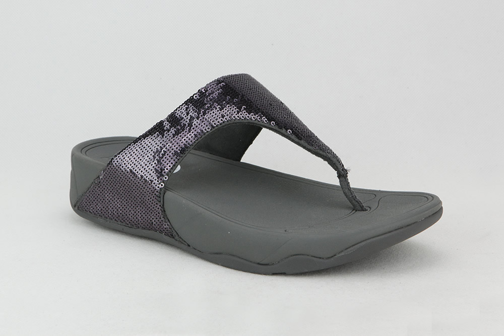 Fitflop Electra Classic Pewter Flip Flops On La Botte Chantilly