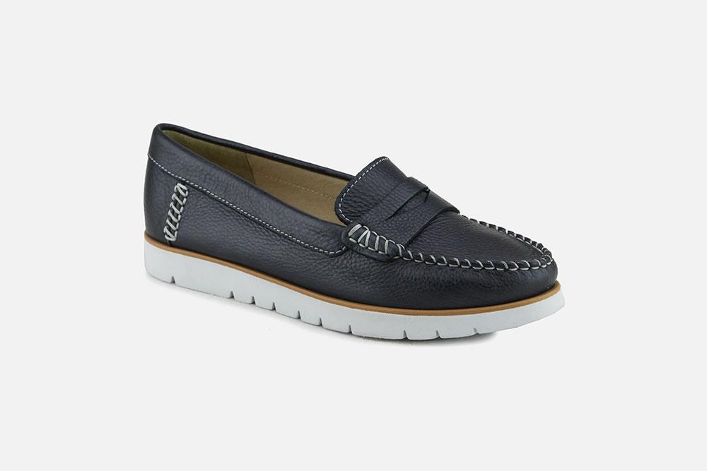 Cusco Ser Maligno  Geox - KOOKEAN NAVY Loafers on La Botte Chantilly