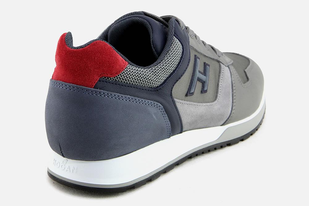 Hogan - HOGAN 321 GREY BLUE Sneakers on La Botte Chantilly