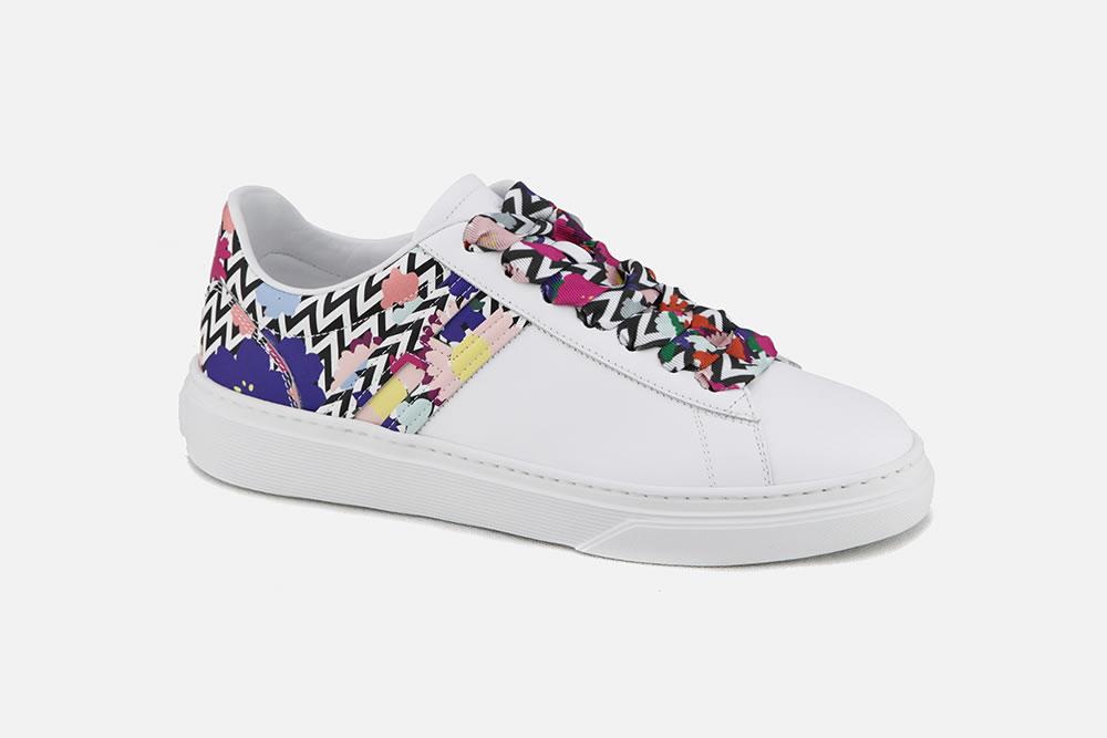 6f0178fb4da5 Hogan - HOGAN 365 BLANC SUMMER Sneakers on La Botte Chantilly