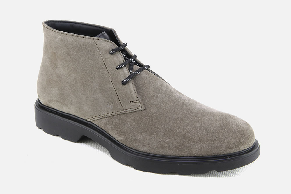 Hogan - HOGAN H304 SAND Lace-up boots on La Botte Chantilly