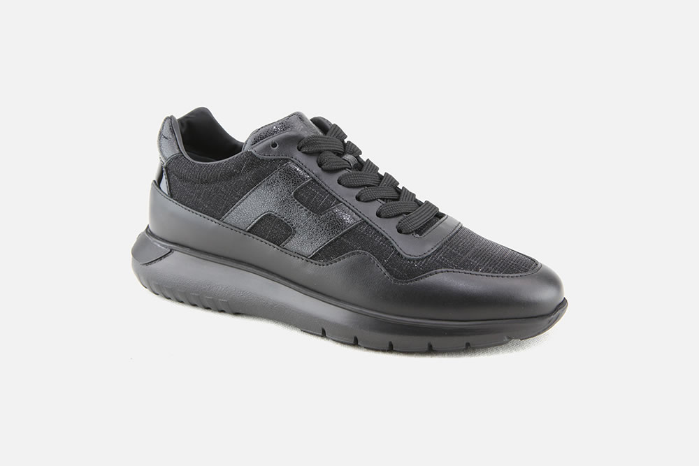 HOGAN INTERACTIVE 3 BLK SHINY Sneakers on La Botte Chantilly