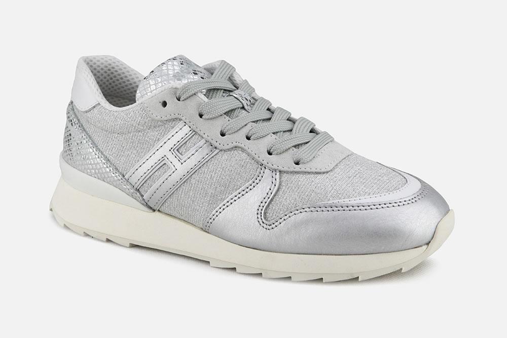 HOGAN R261 SILVER Sneakers on La Botte