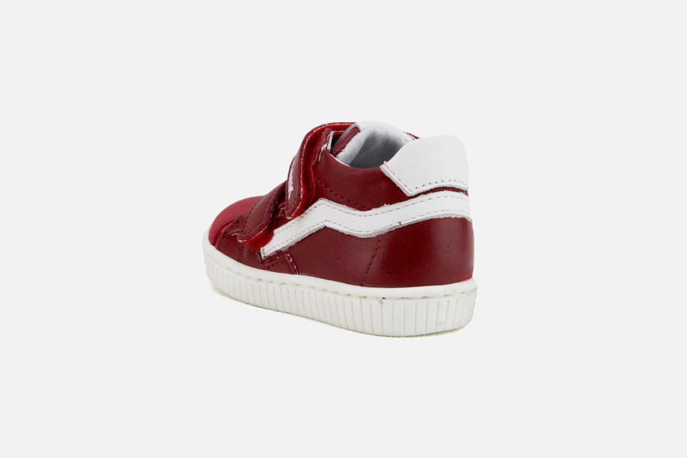 a88fb2c19fd2a Little Mary LORYK ROUGE - Chaussures à scratch à La Botte Chantilly