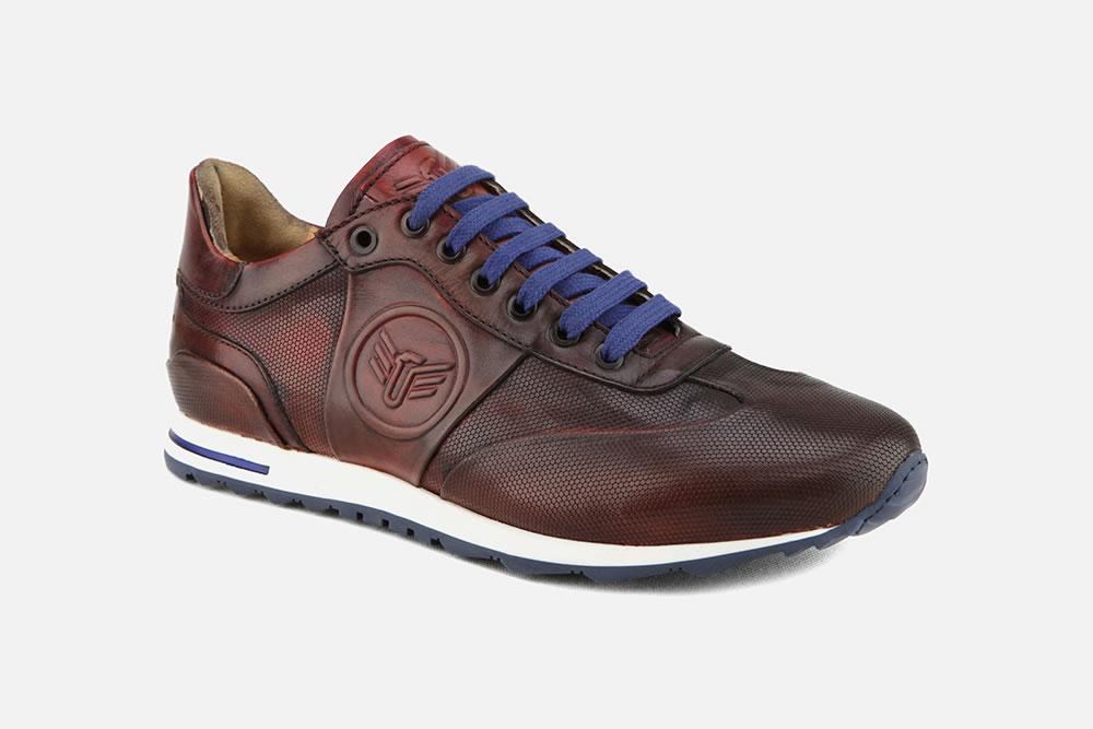 NOVEL BURGUNDY Sneakers on La Botte