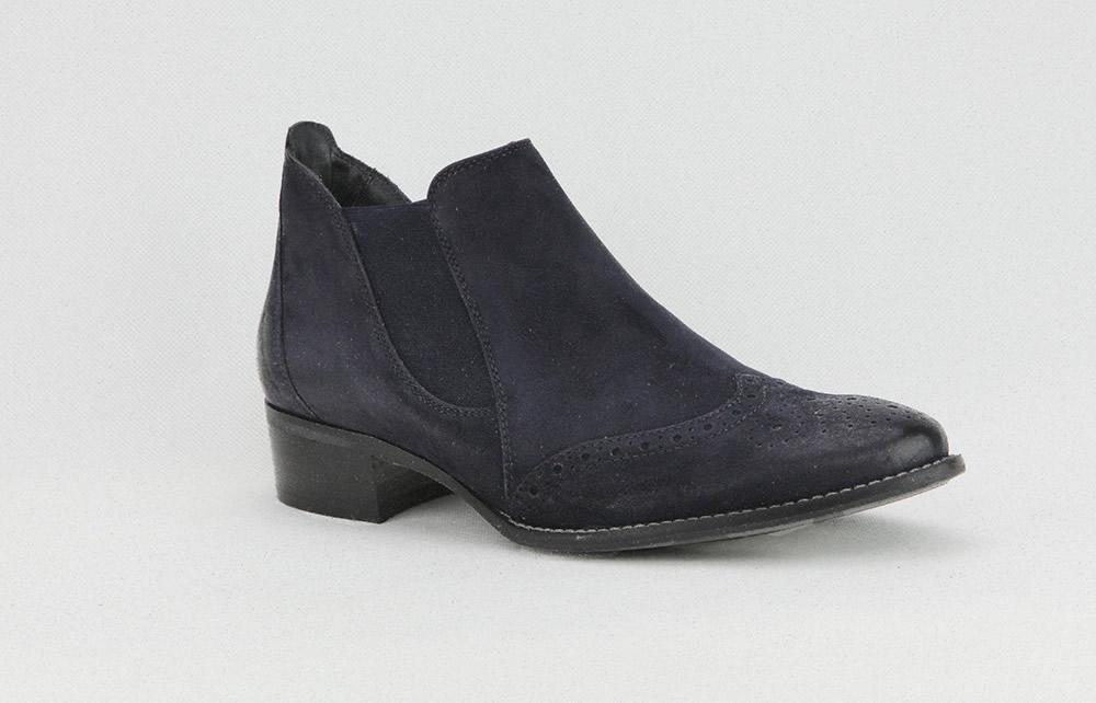 Paul Green polygone d bleu Boots à La Botte Chantilly