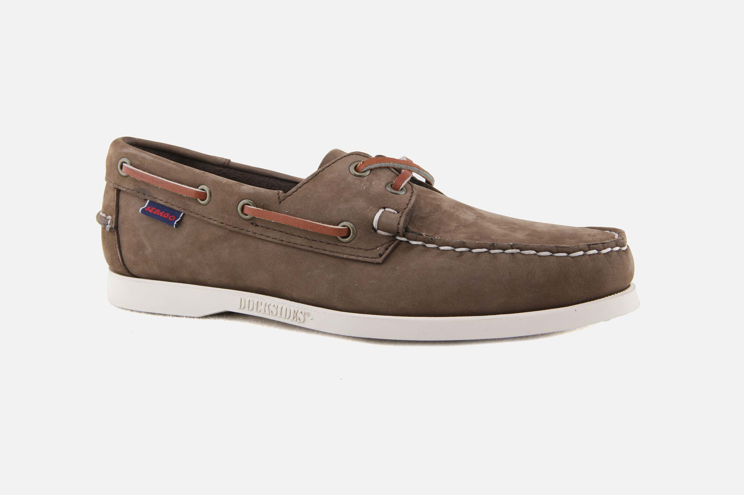 33c1537b721 Sebago - DOCKSIDES PORTLAND DARK BROWN Boat shoes on La ...