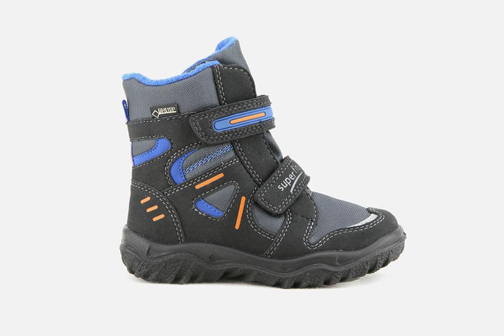 Chaussures Superfit noires garçon wGFsW3