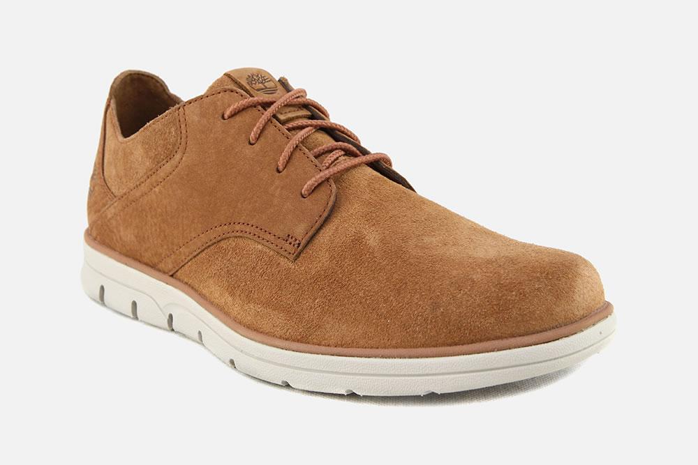 Timberland BRADSTREET MIX RUST Sneakers on La Botte