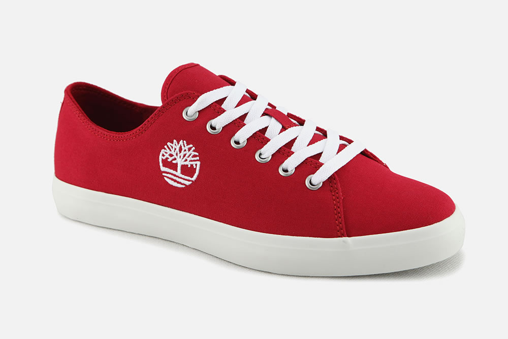 des timberland rouge