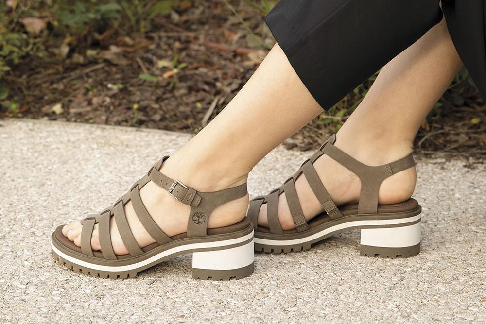 nu pieds femme timberland
