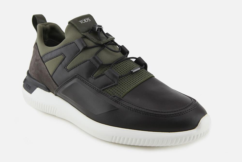 TODS NO CODE 03 MARRON KAKI Sneakers