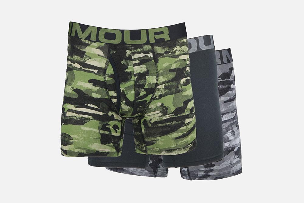 Rendición Toro editorial  Under Armour - BOXERJOCK CHARGED ARMY Underwears on La Botte Chantilly