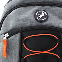 AFNF SPORT BAG GREY - A Fish Named Fred