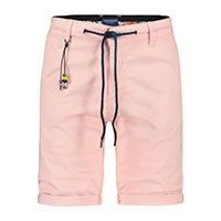 BERMUDA PINK PEACHED TWILL - A Fish Named Fred
