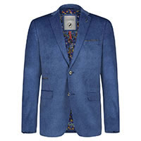 BLAZER BIGHT VELVET BLUE - A Fish Named Fred