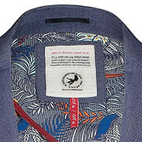 BLAZER BLUE DENIM LOOK - A Fish Named Fred