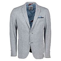 BLAZER GREY MELANGE JERSEY - A Fish Named Fred