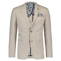 BLAZER LINEN LOOK SAND - A Fish Named Fred