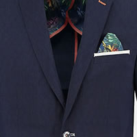 BLAZER NAVY LINNEN LOOK - A Fish Named Fred