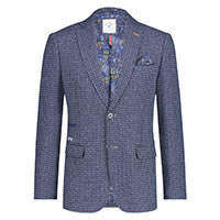 BLAZER RECYCLED BLEND BLUE - A Fish Named Fred