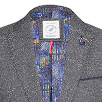 BLAZER STRUCTURED GREY - A Fish Named Fred