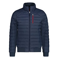 PADDED JACKET NAVY BLUE - A Fish Named Fred