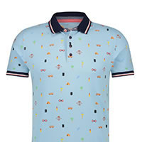 POLO FESTIVAL ITEMS LIGHT BLUE - A Fish Named Fred