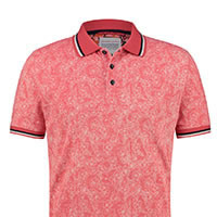POLO PINK FLORAL PIQUE - A Fish Named Fred