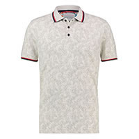 POLO WHITE FLORAL PIQUE - A Fish Named Fred