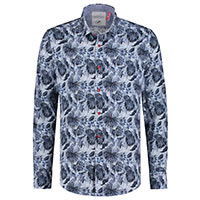 SHIRT ELEPHANT JUNGLE BLUE - A Fish Named Fred