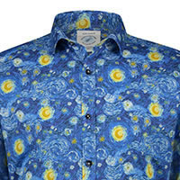 SHIRT VAN GOGH NIGHT SKY - A Fish Named Fred
