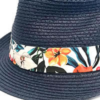 STRAW HAT FLOWERS WHITE - A Fish Named Fred