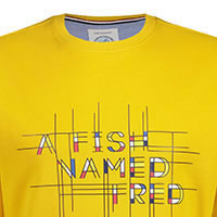 SWEATER AFNF YELLOW - A Fish Named Fred