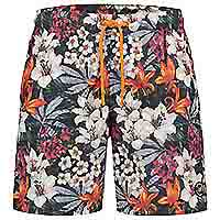 SWIMSHORT TROPICAL RED - A Fish Named Fred