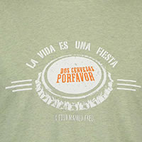 TSHIRT LA VIDA GREEN - A Fish Named Fred