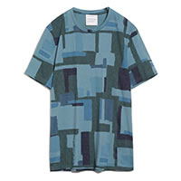 JAAMES PATCHWORK SEA GREEN - Armedangels