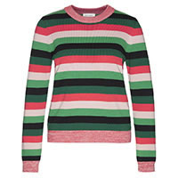 OXANAA MULTI STRIPES GREEN - Armedangels